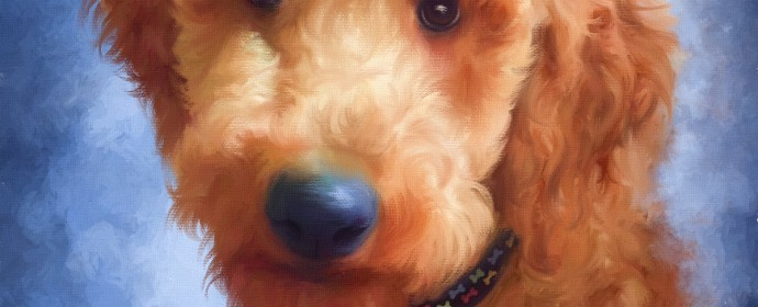 Painting of Rusty